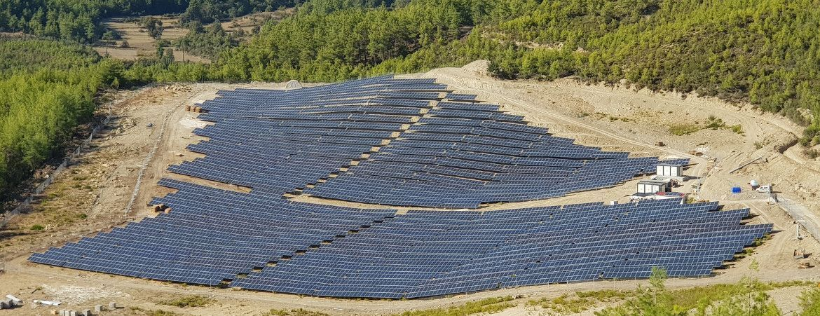PV Power Plant - Manavgat, Turkey